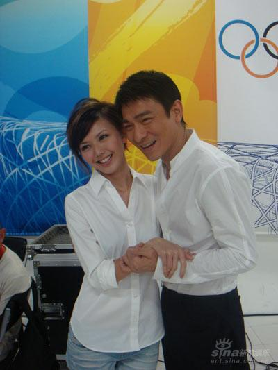 Andy Lau and Stephanie Sun